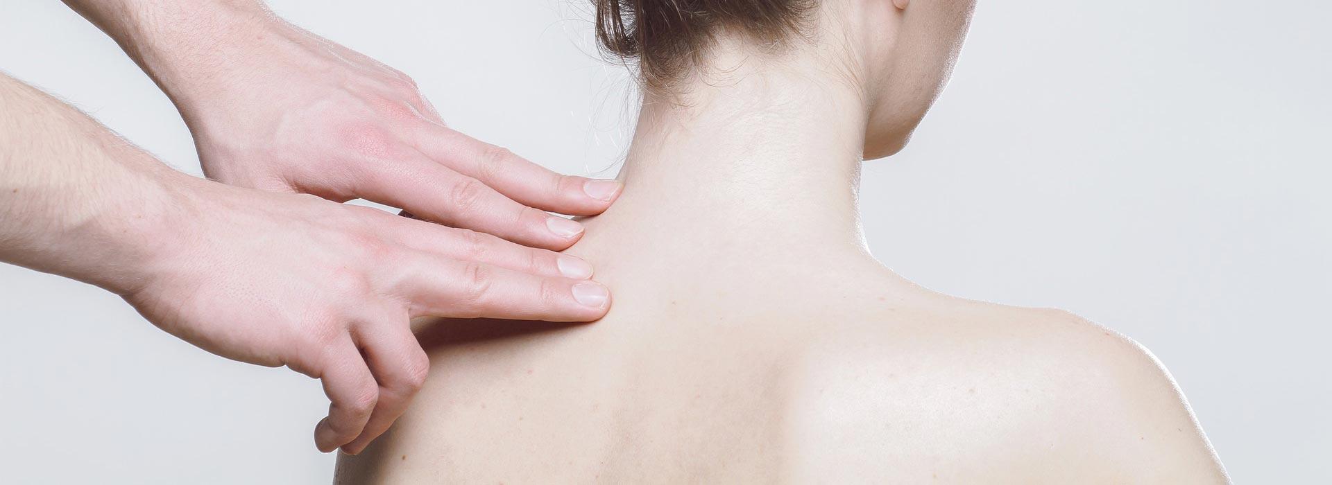 Massage für den Nacken