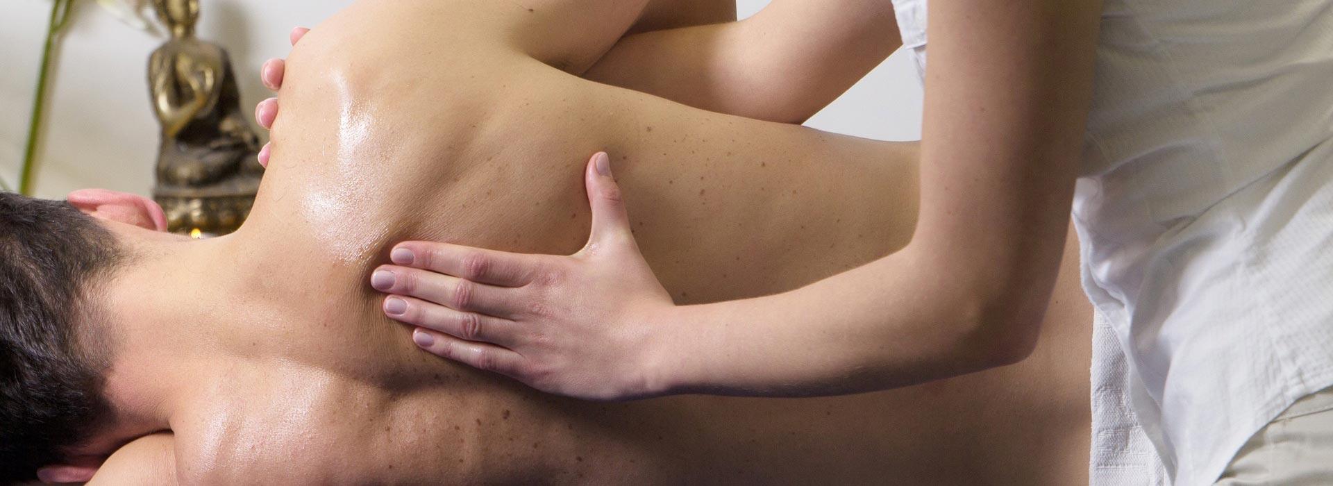 Rückenmassage bei Stefan Zoll