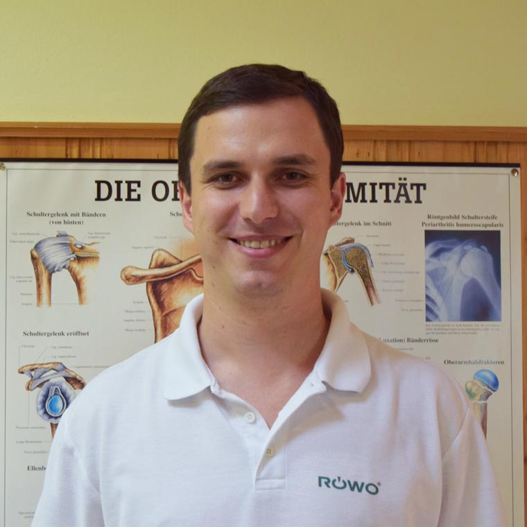 Physiotherapeut Stefan Zoll